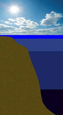 Sunny Sky Over Dead Oceans 2 Art Print by Bruce Iorio