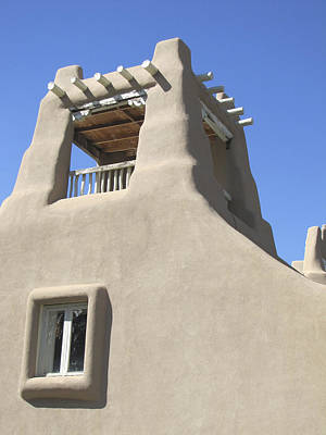 Photograph - Sunny Southwest Adobe by Ann Powell