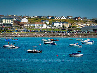 Photograph - Sunny Summer Day On Kilkee Bay by James Truett