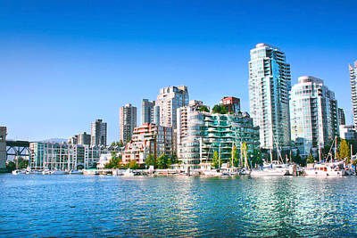 Photograph - Sunny Vancouver by JR Photography