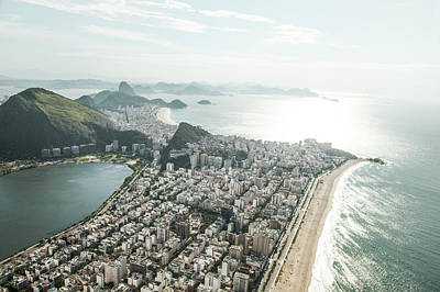 Photograph - Sunny View Of Lagoa And Ipanema by Christian Adams