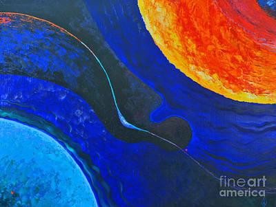 The Universe Painting - Sunny Way by Igor Karlov