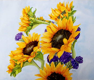 Claude Monet - Sunnys by Nicole Curreri