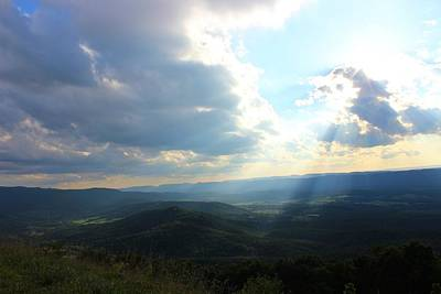 Photograph - Sunray Valley by Candice Trimble