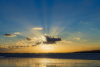 Photograph - Sunrays by Trevor Wintle