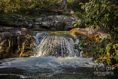 Sunrift Gorge  Falls Art Print by Robert Bales