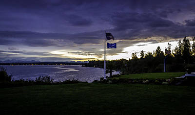 Photograph - Sunrise 12th Man Way by Blanca Braun