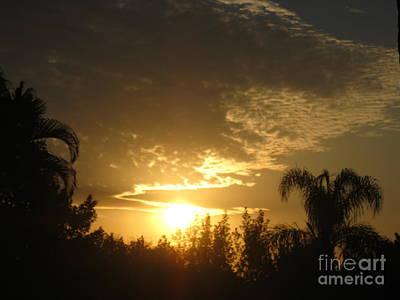 Photograph - Morning Sky. Sunrise 8. Florida by Oksana Semenchenko
