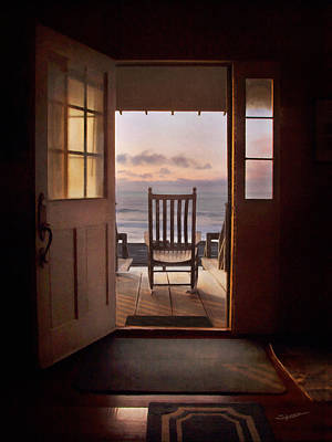 Photograph - Sunrise- A Front Row Seat by Alan Sherlock