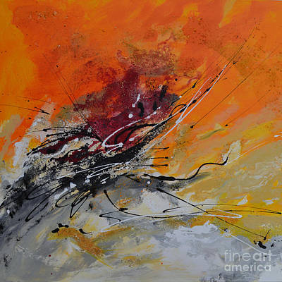 Sunrise - Abstract Print by Ismeta Gruenwald