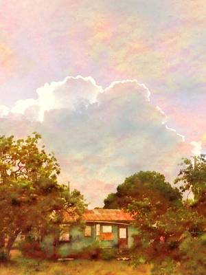 Digital Art - Sunrise And Island Homestead - Vertical by Lyn Voytershark
