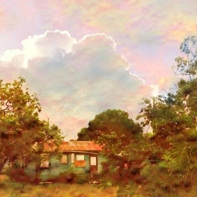 Digital Art - Sunrise And Island Homestead - Square by Lyn Voytershark