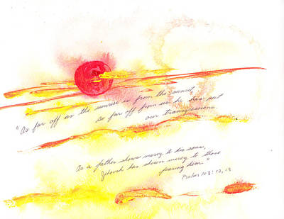 Sunrise And Sunset Art Print by B L Qualls