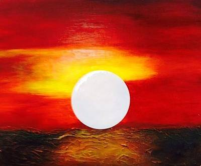 Painting - Sunrise by Andrea Friedell