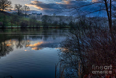 Sunrise At  Biltmore Estate Art Print