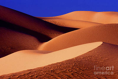 Photograph - Sunrise At Death Valley Sand Dunes by Paul W Faust -  Impressions of Light