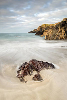 Kynance Cove Photograph - Sunrise At Kynance Cove by Chris Frost