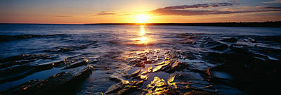 Porcupine Photograph - Sunrise At Lake Superior, Porcupine by Panoramic Images