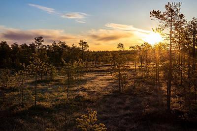 Photograph - Sunrise At Linnaistensuo by Janne Mankinen