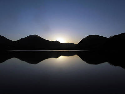 Sunrise At Loweswater Art Print by Chris Whittle