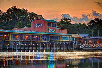 Digital Art - Sunrise At Lulu's by Michael Thomas