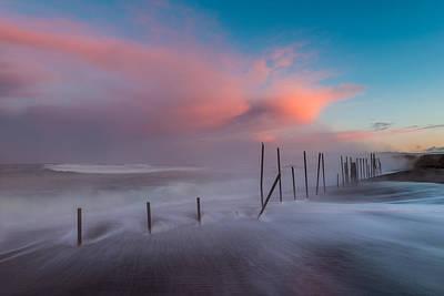 Sunrise At Mackerricher Art Print by Mike  Walker