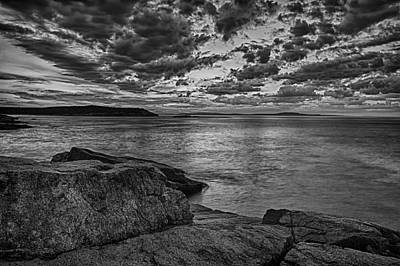 Photograph - Sunrise At Monument Cove by Jeff Sinon