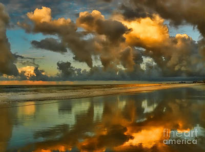 Photograph - Sunrise At Myrtle Beach II by Jeff Breiman