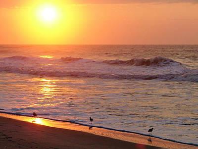 Sunrise At Ocean Isle Art Print