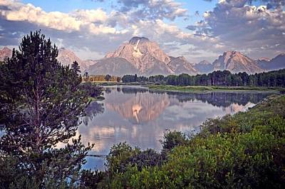 Sunrise At Oxbow Bend 4 Art Print by Marty Koch