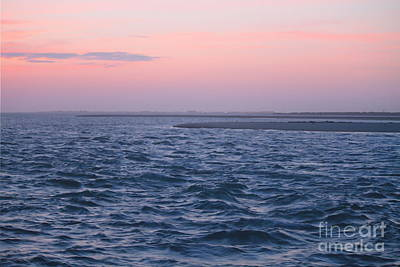 Crossing Photograph - Sunrise At Pamlico Sound by Cathy Lindsey