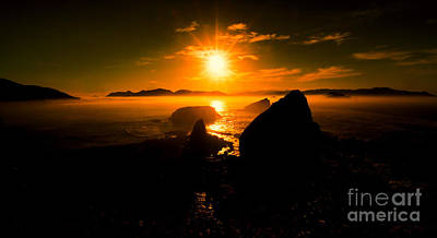 Photograph - Sunrise At Papuma Beach by Arik S Mintorogo