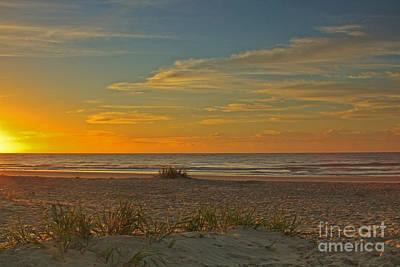 Sunrise At Pawleys Island I Art Print