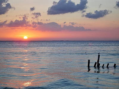 Just Desserts - Sunrise at Puerto Morelos by Paul Williams