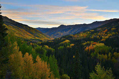 Photograph - Sunrise At Red Mountain Pass by Ray Mathis