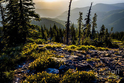 Photograph - Sunrise At Smith Peak by Albert Seger