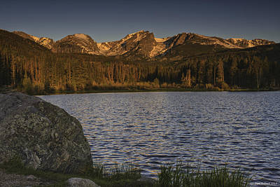 Sunrise At Spraque Lake Art Print by Tom Wilbert