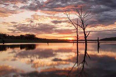 Photograph - Sunrise At Stockdale by Scott Bean