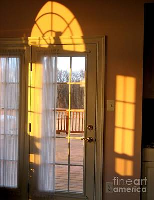 Photograph - Sunrise At The Back Door by Sarah Loft