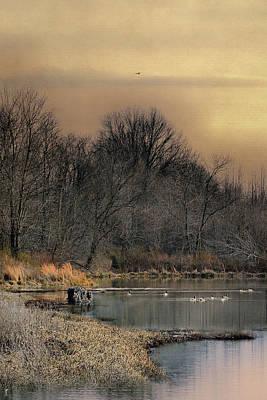 Photograph - Sunrise At The Blind by Jai Johnson