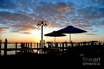 Photograph - Sunrise At The Dock by Margie Amberge