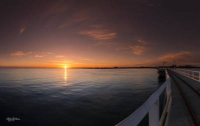 Busselton Photograph - Sunrise At The Jetty by Andrew Dickman