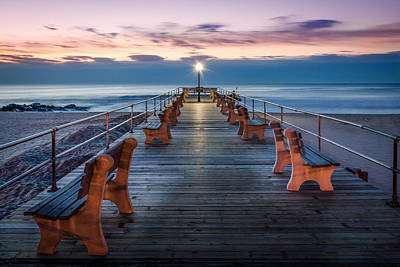 Photograph - Sunrise At The Pier by Steve Stanger