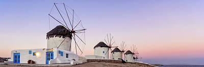 Photograph - Sunrise At The Windmills by Photography By Maico Presente
