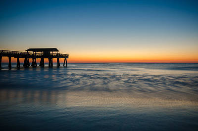 Photograph - Sunrise At Tybee Island by Anthony Doudt