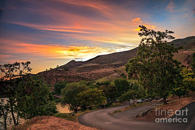 Sunrise At Woodhead Park Art Print