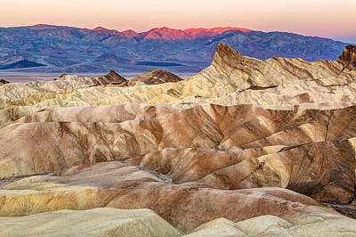 Photograph - Sunrise At Zabriskie Point by Pierre Leclerc Photography