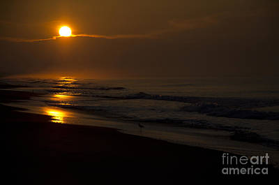 Photograph - Sunrise Atlantic Beach Nc by Wilma  Birdwell