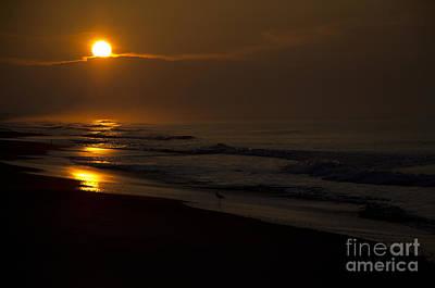 Photograph - Sunrise Atlantic Beach Nc by Wilma  Birdwell