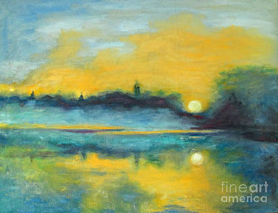 Painting - Sunrise by Barbara Anna Knauf